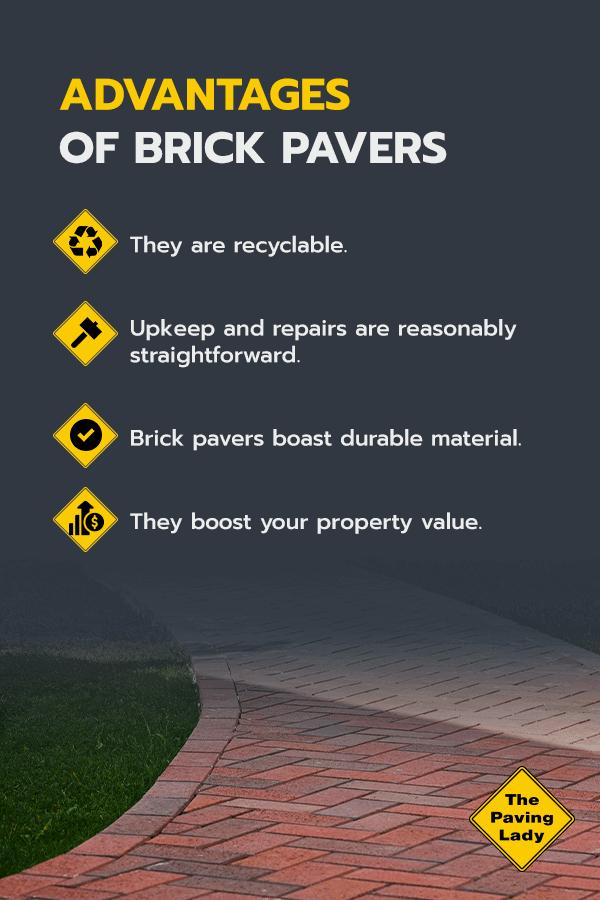 advantages of brick pavers